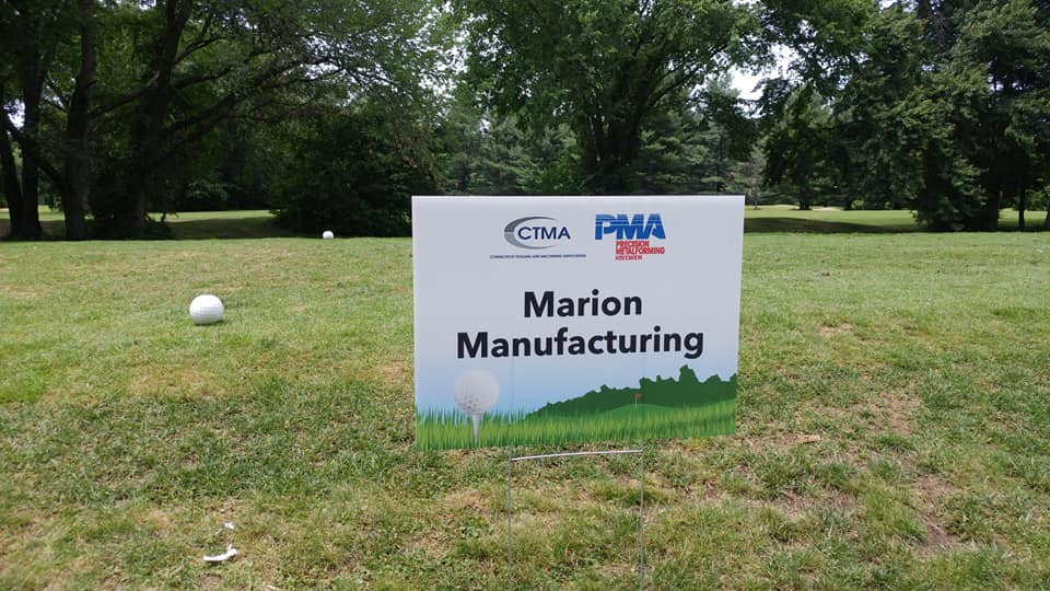 Marion tee sign