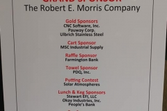 thank you sponsor board