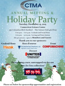 To register for this year's Holiday Party click here.